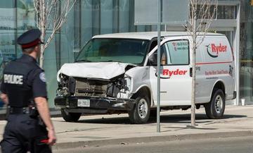 Atropello en Canadá deja nueve personas fallecidas y 16 heridos