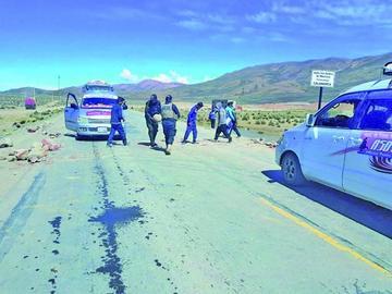 Los comunarios del ayllu San Andrés de Machaca anuncian un bloqueo vial