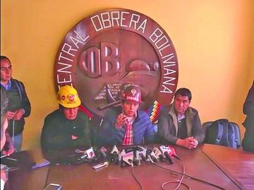COB analizará en un ampliado la propuesta salarial del Gobierno