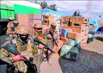 Gobierno tomará el control de los operativos anticontrabando