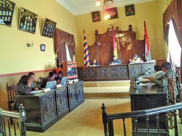 Concejo aprueba una reformulación presupuestaria por Bs 102 millones