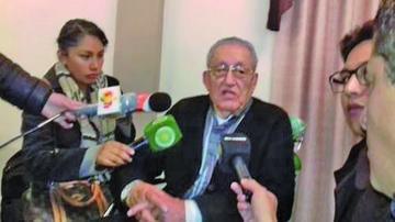 Luis García Meza está en terapia intensiva tras sufrir tres infartos