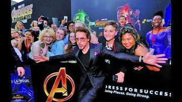 """Avengers"" bate record en estreno"