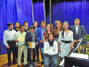 Potosí disfruta del festival de piano