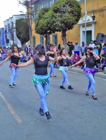 En Potosí se celebra el Día de la Danza