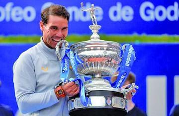 Nadal logra su undécimo título en Barcelona