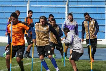 Real Potosí trabaja enfocado en el duelo con Sport Boys