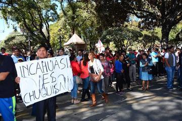 Campesinos de Chuquisaca dan plazo al Gobierno por Incahuasi