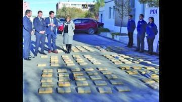 Detienen a bolivianos por tráfico de droga