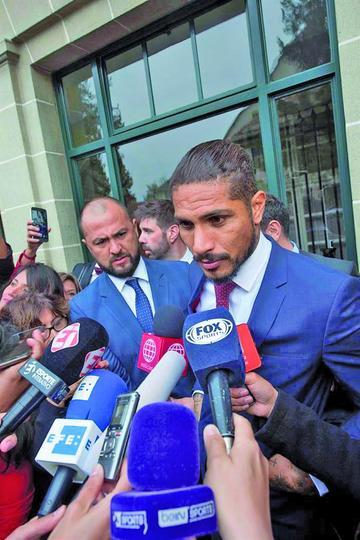 FIFA pide al TAS un año de sanción para Guerrero