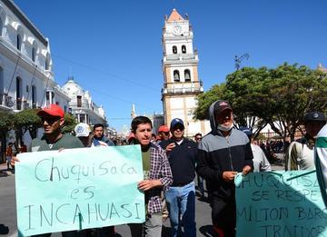 Incahuasi: Chuquisaca exige al Gobierno solucionar el conflicto
