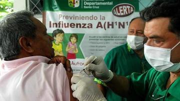 Distribuirán 1.8 MM de vacunas contra A H1N1