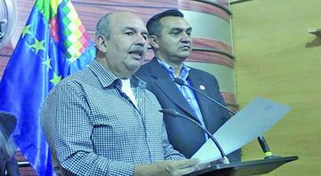 Murillo pide a Evo indagar denuncias de narco-vuelos
