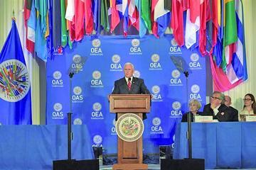EE.UU. pide a la OEA suspender a Venezuela e impone sanciones