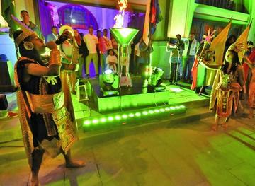 Bolivia enciende el fuego de los Juegos Suramericanos