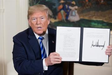 Trump retira a Estados Unidos del acuerdo nuclear con Irán