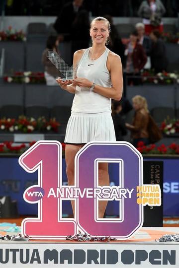 Petra Kvitova gana a Kiki Bertens y reina en el Mutua Madrid Open