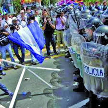 FF.AA. demandan al Gobierno cesar la violencia en Nicaragua