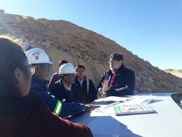 Mineros serán desalojados para preservar el cerro Rico de Potosí