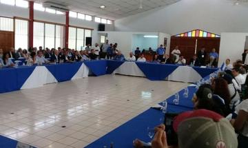 Culmina primera sesión del diálogo en Nicaragua marcado por reproches