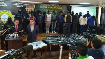 """La Paz y El Alto: operativos en """"barrios chinos"""" termina con detenidos"""