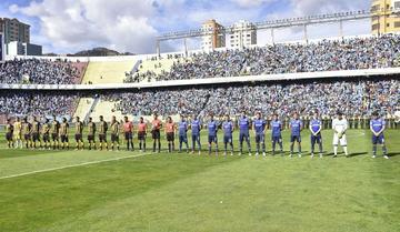 Vinícius tiene el equipo definido para enfrentar a The Strongest