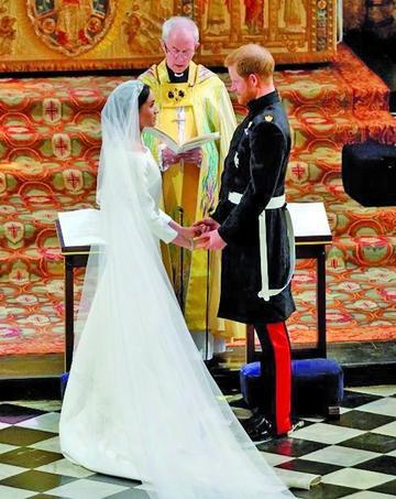 Harry y  Meghan ya  son marido  y mujer