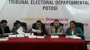 Potosí se queda sin ningún revocatorio de mandato