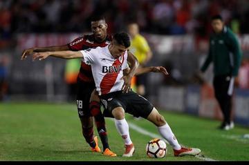 River empata con Flamengo y se asegura el primer lugar