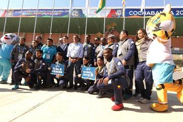 Arrancan los Juegos Suramericanos