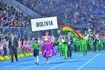 Bolivia vive la fiesta de los  XI Juegos Suramericanos