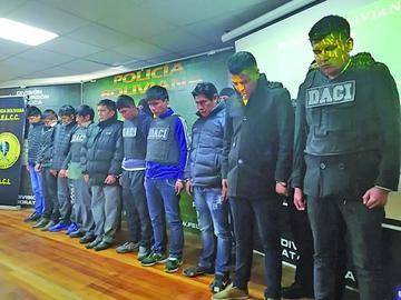 Capturan a 32 personas por delinquir en el Gran Poder