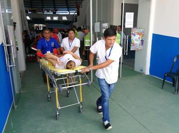 Bolivia gana a Perú y tenistas terminan en hospital