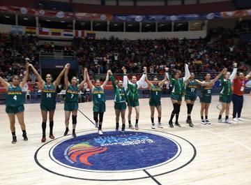 Bolivia obtiene medalla de plata en baloncesto