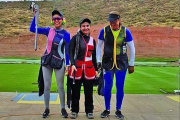 Velasco consigue la medalla plateada en tiro deportivo