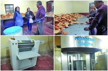 Inspección revela una buena elaboración de pan en Velarde