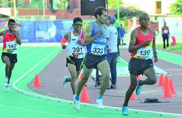 Atletismo logra cuatro medallas para Bolivia