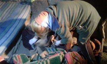 Una anciana muere congelada y con signos de desnutrición