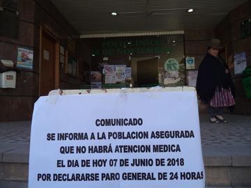 Médicos de la CNS acataron paro nacional en demanda de mejoras
