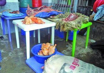 Policía incauta carne que era llevada inadecuadamente