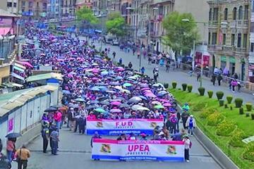 UPEA acepta ir al diálogo con la condición de cambiar la ley 195