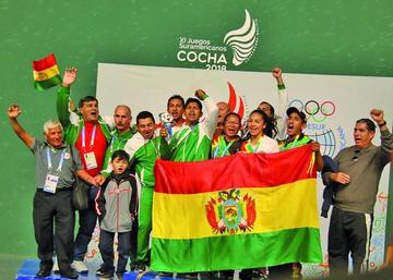 Bolivia cierra su mejor campaña en los Juegos Suramericanos