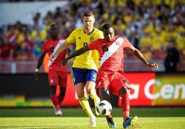 """Suecia y Perú igualan sin goles en  el estadio """"Ullevi"""""""