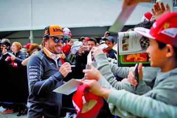 Fernando Alonso abandona en la vuelta 43