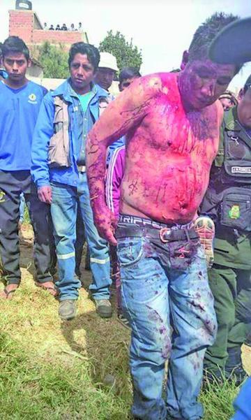 Supuesto asaltante fue aprehendido en Sucre