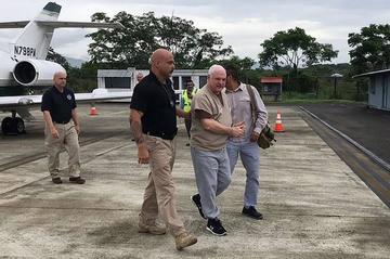 Ricardo Martinelli ya está preso en Panamá tras su extradición