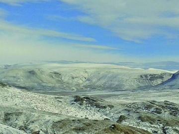 Declaran alerta naranja por nevadas y el frío  recrudecerá en Potosí