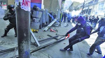 La UPEA sigue con movilizaciones luego de una jornada de violencia