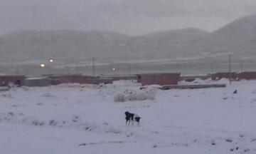 Restringen los viajes al sudoeste hasta que pase la caída de nieve