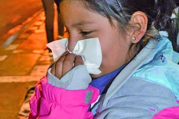 Resfríos se incrementan en 22 por ciento en el departamento de Potosí